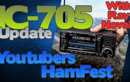 Latest on the Icom IC-705 From Ray Novak | Youtubers Hamfest