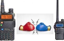 BaoFeng UV-5R vs. AnyTone NSTIG-8R