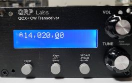 QCX+ the new QRP Labs 5W transceiver kit