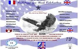 13 Colonies special event