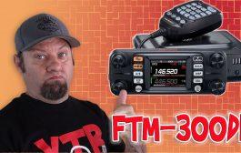 Yaesu Reveals the FTM-300DR Dual Band Mobile Radio