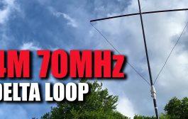 Homemade 4M (70MHz) Delta Loop Antenna