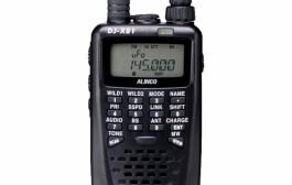 Alinco DJ-X81 0.1~1300MHz Seg TV voice · EWS receive corresponding receive