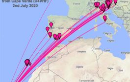 5000km plus opening on 144 MHz from Cape Verde Islands to Italy, Slovenia & Croatia – 2nd July 2020