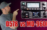 Anytone AT-D578 vs TYT MD-9600   DMR Mobile Radio Comparison