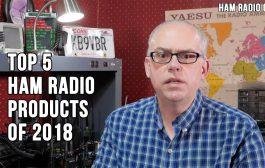 Top Five Amateur Radio Reviews of 2018