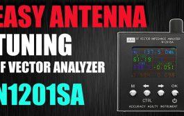 Easily Check Your Antennas Tuning – VNA N1201SA / PS100