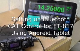 Yaesu FT817 CAT Control Setup & BT Remote Control   Android
