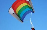 Antenna Lifting Kite