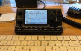 Icom IC-7100 Sending Email Via VHF, Winlink, Mobilinkd, ARES