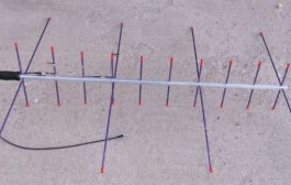 Alaskan Arrow LEO Satellite Antenna – 4 Elements for 2 Meters crossed with 10 Elements for 70 cm