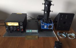 Rotators + Controller Rot1prog USB are smal, medium ideal for use with HEXBEAM