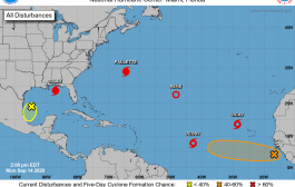 Attention Turns to Tropical Storm Sally after Hurricane Paulette Hits Bermuda