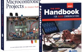 2021 Edition of The ARRL Handbook and New Microcontroller Projects Book Available