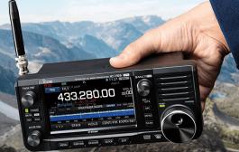 ICOM  IC-705 SDR transceiver Update