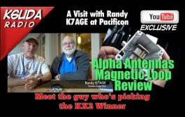 Alpha Mag Loop Review, Interview with K7AGE at Pacificon – K6UDA Radio Episode 31