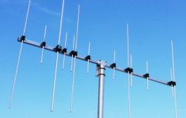 Dual-band antenna 5 elements VHF 8 elements UHF