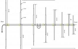 14-28 MHz Log-periodic Antenna