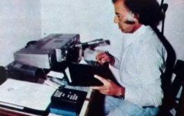 Former Argentine President Carlos Menem, ex-LU1SM, SK