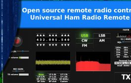Universal Ham Radio Remote. Open source remote radio control.