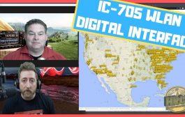 ICOM IC 705 Wireless LAN Digital Demo