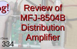Review of MFJ-8504B RF Receiver Distribution Amplifier