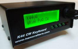 K44 CW Keyer & Reader w/Keyboard I/F by K1EL