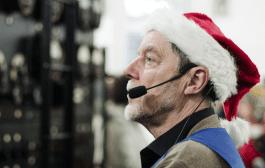 SAQ Alexanderson Alternator Transmission Set for Christmas Eve
