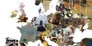 Melyik művészeti alkotás jellemezheti legjobban az egyes európai országokat?