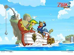 The Legend of Zelda Phantom Hourglass (Nintendo DS)