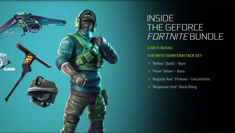 Nvidia proporcionará una nueva variante del conjunto Fortnite Counterattack