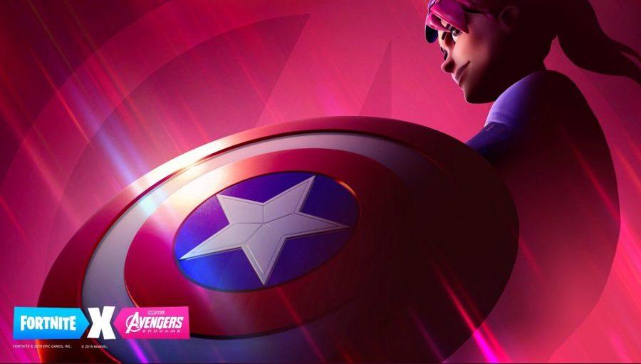 El cruce de los Vengadores de Fortnite X para el lanzamiento de Endgame
