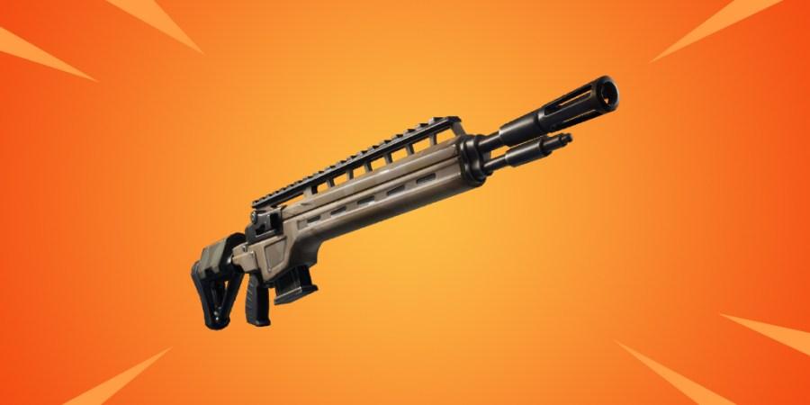 Rifles épicos y legendarios de infantería Fortnite