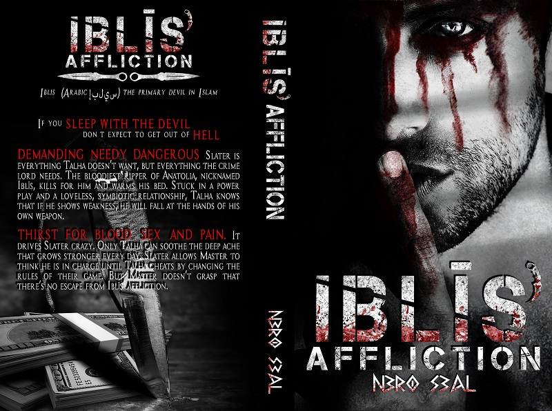 Iblis' Affliction - paperback cover