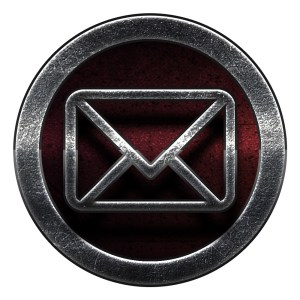 email social icon Nero Seal