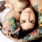 crianza tatuaje permanente