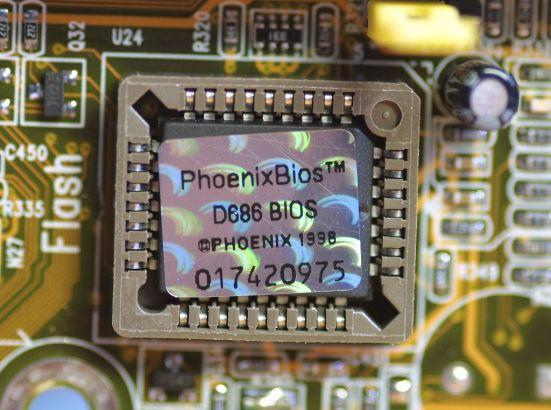 Komponen-Komponen pada BIOS
