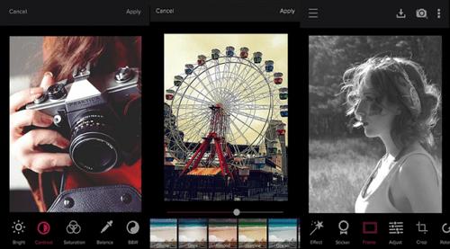 aplikasi edit foto android Cupslice Photo Editor