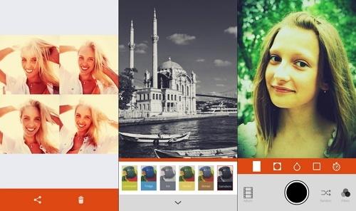 aplikasi edit foto android Retrica