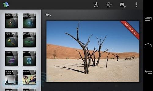 aplikasi edit foto android Snapseed