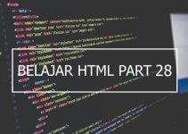 Penggunaan Elemen Input Type Password dan Submit pada Form HTML