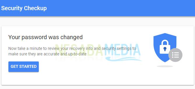 cara mengganti password gmail di laptop yang lupa
