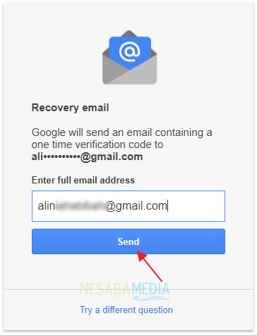 lupa password gmail berhasil
