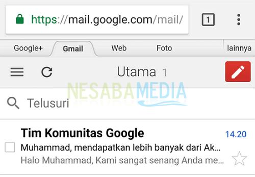 cara membuat email baru di Gmail mudah