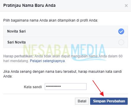 Cara Mengganti Nama Facebook untuk Pemula
