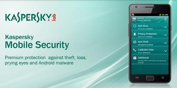 Tampilan Kaspersky Mobile Antivirus