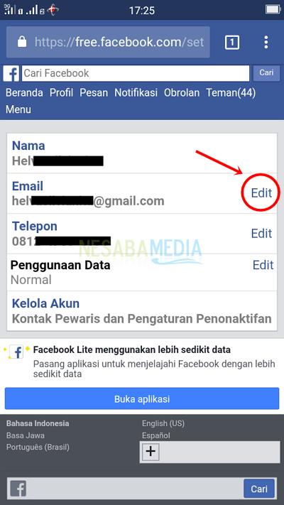 Temukan Cara Merubah Email Gmail Terbaru