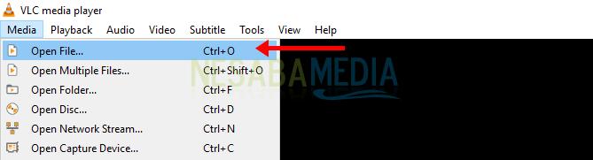 Buka VLC media player