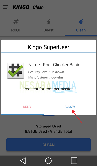 Step 9 - root android