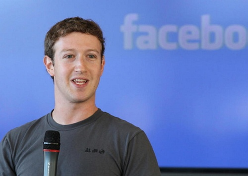 Pendiri Facebook Mark Zuckerberg